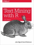 miniaturebillede af omslaget til Text Mining with R - A Tidy Approach