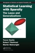 miniaturebillede af omslaget til Statistical Learning with Sparsity - The Lasso and Generalizations