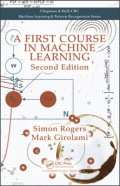 miniaturebillede af omslaget til A First Course in Machine Learning, Second Edition, 2. udgave
