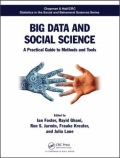 Big Data and Social Science - A Practical Guide to Methods and Tools