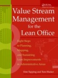 miniaturebillede af omslaget til Value Stream Management for the Lean Office - 8 Steps to Planning, Mapping, and Sustaining Lean Improvements in Administrative Areas