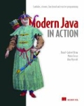 miniaturebillede af omslaget til Modern Java in Action - Lambdas, Streams, Functional and Reactive Programming, 2. udgave