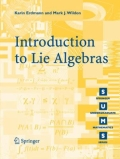 miniaturebillede af omslaget til Introduction to Lie Algebras, 1. udgave