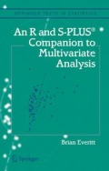 miniaturebillede af omslaget til An R and S-Plus® Companion to Multivariate Analysis, 1. udgave