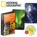 miniaturebillede af omslaget til National Geographic 52 Playing Cards  - Amazing Animals