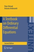 miniaturebillede af omslaget til A Textbook on Ordinary Differential Equations, 2. udgave