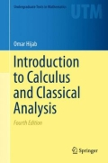 miniaturebillede af omslaget til Introduction to Calculus and Classical Analysis, 4. udgave