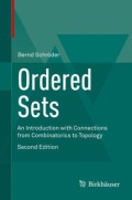 miniaturebillede af omslaget til Ordered Sets - An Introduction with Connections from Combinatorics to Topology, 2. udgave