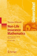 miniaturebillede af omslaget til Non-Life Insurance Mathematics - An Introduction with the Poisson Process, 2. udgave