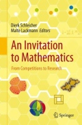 miniaturebillede af omslaget til An Invitation to Mathematics - From Competitions to Research, 1. udgave