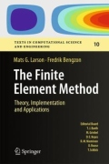 miniaturebillede af omslaget til The Finite Element Method - Theory, Implementation and Applications, 1. udgave